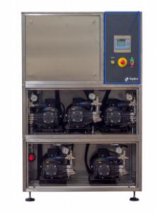 Impianto di lavaggio ad acqua fredda BOX LC-HT 140/105 5×5